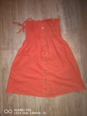 SheIn Strandjurk donker oranje