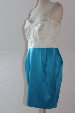 Robe à corsage multicolore