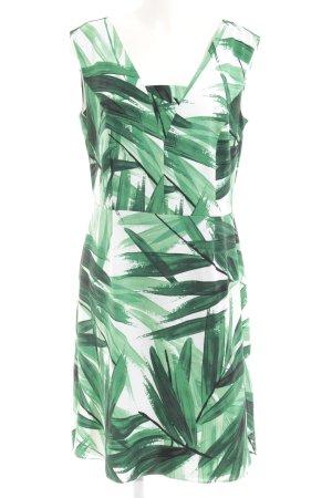 Trägerkleid florales Muster Business-Look