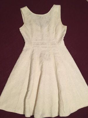 H&M Pinafore dress white