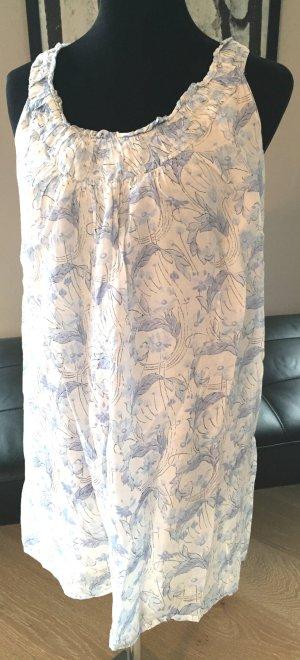 Trägerkleid mit drapiertem Ausschnitt