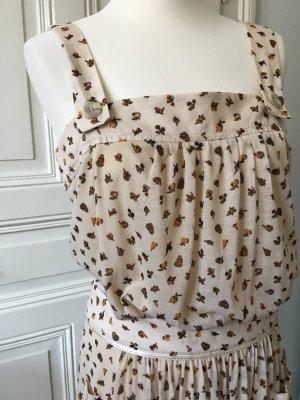 Trägerkleid mit Obstprint, Mango