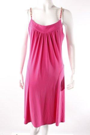 Trägerkleid pink