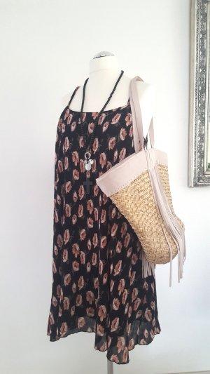 Trägerkleid # Sommerkleid mit Blumenprint Gr. 40