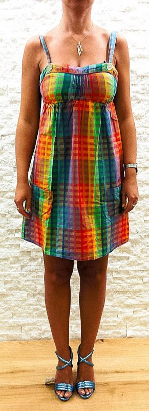 Billabong Pinafore dress multicolored cotton