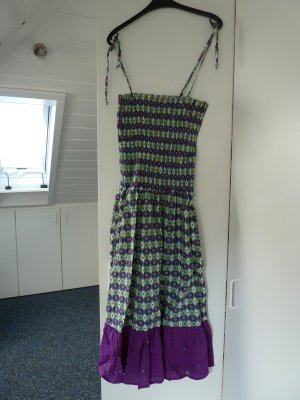 Trägerkleid von Minneola lila/bunt