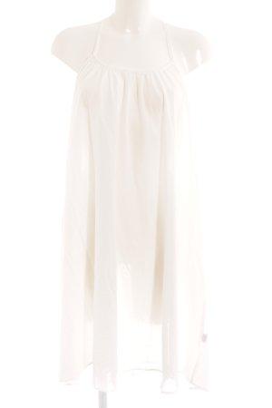 Trägerkleid weiß Beach-Look