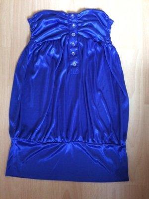 trägerlose Bluse, Tally Weijl, blau, Gr.34