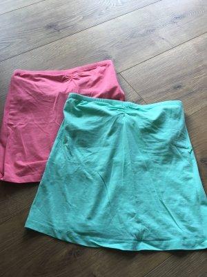Esmara Top a fascia turchese-rosa