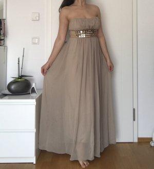 Trägerloses Abendkleid/Ballkleid