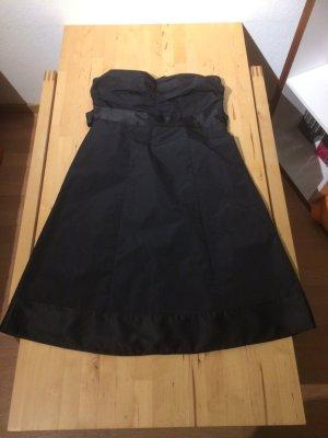 trägerloses Abschlusskleid, schwarz, sehr gut, Esprit, Größe 38