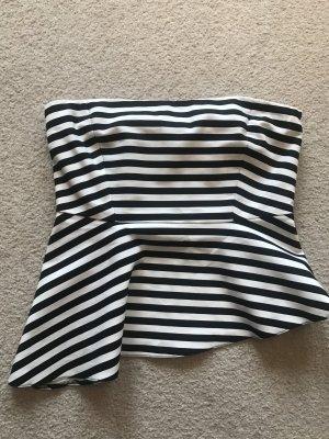 Trägerloses asymmetrisches Top von Zara