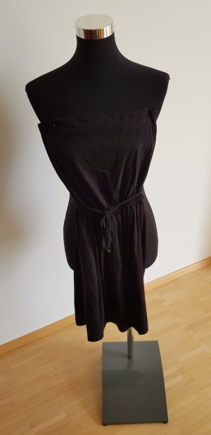 H&M Off the shoulder jurk zwart