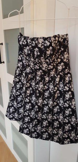 H&M Petticoat Dress white-black