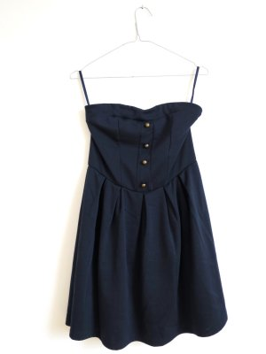 Urban Outfitters Bandeaujurk donkerblauw