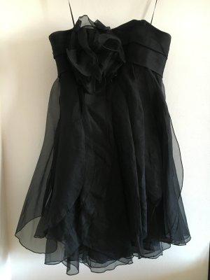 Trägerloses Marchesa Notte Organza Kleid Größe 34-36