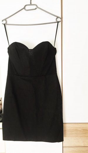trägerloses Mini-Kleid mit Herzausschnitt und sexy cut outs in mesh
