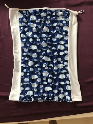 adilisk Strappy Top blue-white