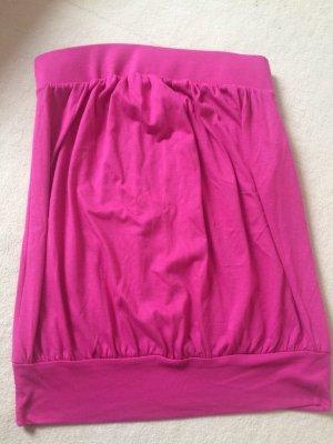 Trägerloses Oberteil in pink von Sisley in Größe s