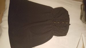 Trägerloses Oberteil/ Kleid mit Punkten