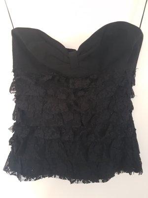 Zara Corsage Top black