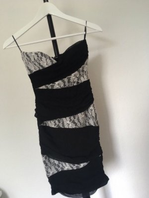 Tally Weijl Tube Dress black-white