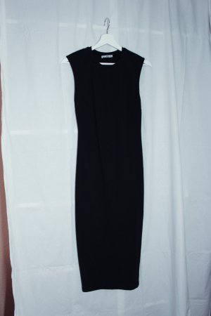 Zara Basic Tube Dress black cotton