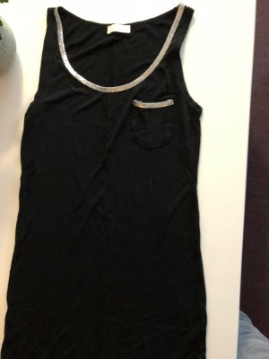 Muscle Shirt black-silver-colored