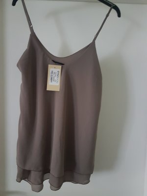 Strappy Top grey brown