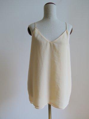 Trägertop in Nude von Zara