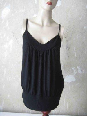 Trägertop in schwarz, H&M - casual Look
