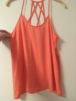 Spaghetti Strap Top bright red