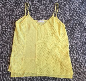 Zara Strappy Top yellow