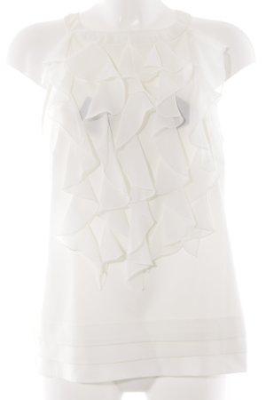 Trägertop weiß Elegant