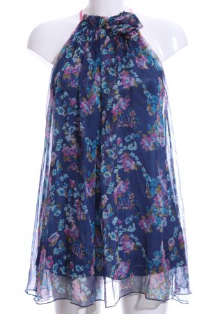 Traffic people Silk Blouse floral pattern casual look