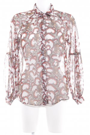 Traffic people Transparenz-Bluse Mustermix Street-Fashion-Look