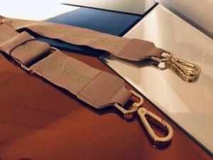 H&M Canvas Belt rose-gold-coloured-gold-colored