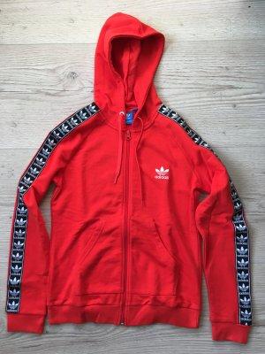 Adidas Giacca sport rosso