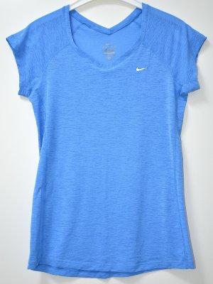 Nike T-shirt de sport bleu azur