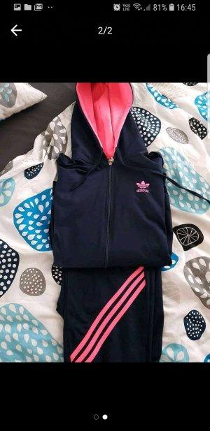 Adidas Sportvest roze-donkerblauw