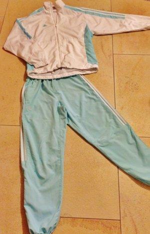 Adidas Vrijetijdspak wit-babyblauw Polyester