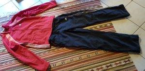 Adidas Trackies red-dark blue