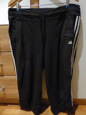 Trainingshose Adidas 3/4 Länge schwarz Größe L