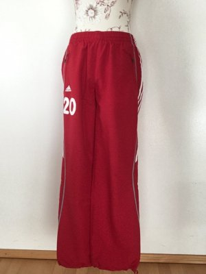 Adidas Trackies red-white polyester