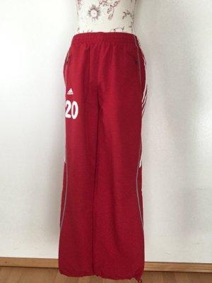 Adidas pantalonera rojo-blanco Poliéster