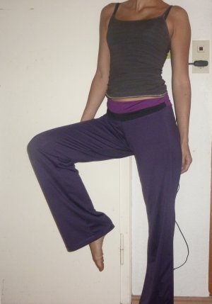Trainingshose Workout & Dance lila Gr. S