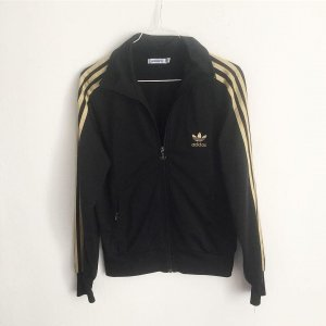 Adidas Sports Vests black-gold-colored synthetic fibre