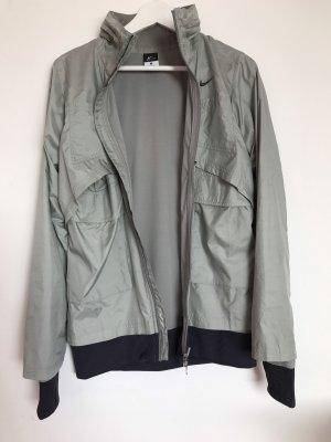 Nike Sports Jacket light grey polyester