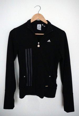 Trainingsjacke Adidas, schwarz