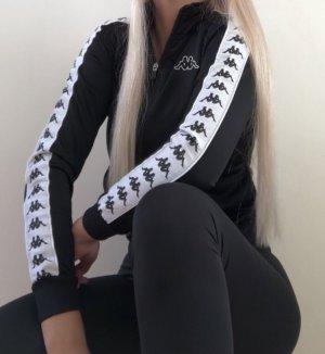 Kappa Sports Jacket black-white